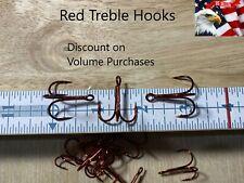 #2, #4, #6, #8, #10 Treble Hooks 2x Strong