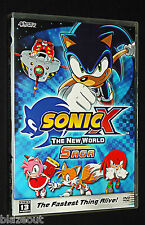 SONIC X The New World Saga Fastest Thing Alive 2 Disc 13 Episodes DVD FUNIMATION