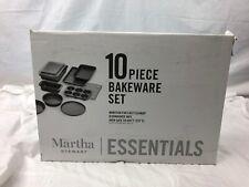 Martha Stewart Essentials 10 pc Non Stick Bakeware Set  | Open Box | NIB