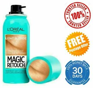 L'Oreal Magic Retouch Instant Root Concealer Grey Hair Coverage Light Blonde