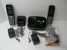 Panasonic KX-TG6512 DECT 6.0 + Expandable Cordless Phone - Large White Display