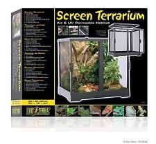 """Exo Terra Screen Terrarium - 60 x 45 x 60cm 24"""" x 18"""" x 24"""" PT2646"""