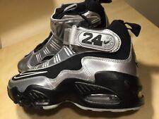 New Nike Griffey Max 1 Training Shoes, Men's Sz 6.5, Black/Silver, 354912 011
