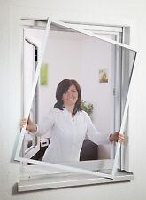 Profi Hecht Culex Insektenschutz Fenster flächenbündig Fliegengitter Alu 100x120