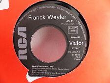 FRANCK WEYLER La cathedrale PB 40167 PROMO
