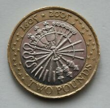 2005 Guy Fawkes, Gunpowder Plot £2 Coin. Two Pound Coin.