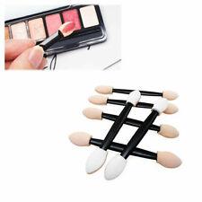 100pcs Disposable Eye Shadow Brush Dual Sided Sponge Applicator Makeup Brush YLM