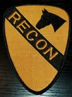 1960s 70s US Army Nam Vietnam 1st Cavalry Division Patch Recon On Bend