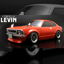 ABC Hobby 1:10 Mini Toyota TE27 Corolla Levin Clear Body RC Car M-Chassis #66303