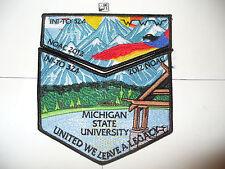 OA Ini - To Lodge 324,2012 NOAC,MSU, Mtns, 2 Two Part Set,Flint River Council,GA