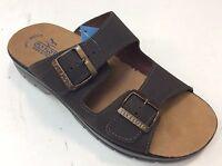 FLY FLOT 62044 DC sandali ciabatte uomo fasce fibbie Vera pelle regolabili