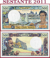FRENCH PACIFIC TERRITORIES - 500 FRANCS nd 1990 / 2002 - P 1e - FDS / UNC