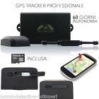 TRACKER GPS ANTIFURTO BARCA LOCALIZZATORE SATELLITARE TK 104 PRO SD 4GB auto spy