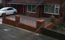 # MADE TO MEASURE SOLID WROUGHT IRON METAL FENCING/RAILING PANEL MANOR GRILLS