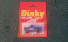 DINKY STEPSIDE PICKUP - No 110 BLUE MINT HONG KONG + OPENED BLISTER PACK 1980