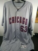 2017 Team Issued / Chicago Cubs / 4th Of July Jersey / #63 Cleto / Size 54