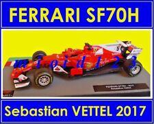 1/43 - FERRARI SF70H : Sebastian VETTEL - WINNER MONACO GP 2017 - Die-cast