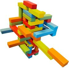 Magz wooden Bricks 45 piece magnetic building set