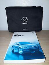 2008 Mazda CX-7 Original Owner's Manual w/ Case