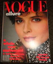 Vintage Vogue 10/1982 Catherine Deneuve Joan Severance Irving Penn Paris France