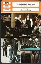 BORSALINO AND CO - Delon,Rouvel,Deray (Fiche Cinéma) 1974