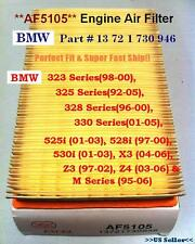 BMW Air Filter SUPER FAST SHIP!!^o^  323,325,328,330,525,528,530,X3,Z3,Z4