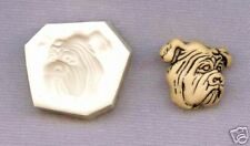 Bull Dog Face Polymer Clay Mold 0 S/H AFTER FIRST 1