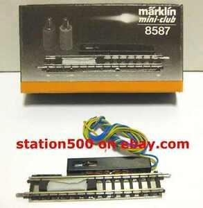 8587 MARKLIN Z Straight Uncoupler Track - NEW