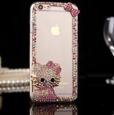 DIY Glitter Jewelled Bling Crystal Diamonds Soft gel Phone back Case Cover #S
