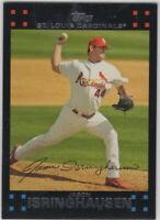 2007 Topps Baseball Saint Louis Cardinals Team Set