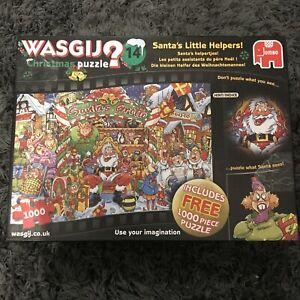 Christmas Wasgij - No: 14 - 1000 Piece Jigsaw Puzzle X2
