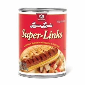 Loma Linda - Plant-Based - Super Links (19 Oz.) (Pack Of 12) - Kosher