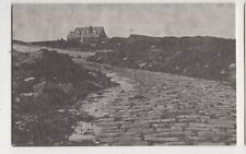 Lihou Farmhouse From Causeway Approach Guernsey Old Postcard 436a