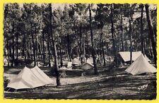 cpa 17 - ILE d'OLÉRON en 1953 (Charente Maritime) BOYARDVILLE Terrain de CAMPING