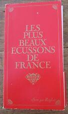 COLLECTION COMPLETE LES PLUS BEAUX ECUSSONS DE FRANCE REGILAIT