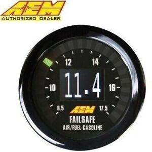 GENUINE AEM 30-4900 DIGITAL WIDEBAND UEGO AIR/FUEL BOOST GAUGE FAILSAFE