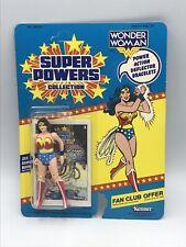 Vintage Sealed Kenner Super Powers Wonder Woman Figure Brand New 23 Back MOC