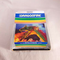 Complete In Box Intellivision Dragonfire in protective sleeve GUARANTEED!