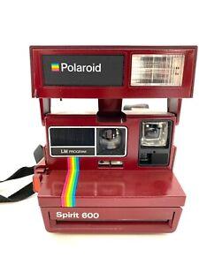 Polaroid Spirit 600 LM Programm Modell Nashua selten / rare