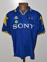JUVENTUS ITALY 1995/1996 AWAY FOOTBALL SHIRT JERSEY KAPPA SIZE XL ADULT