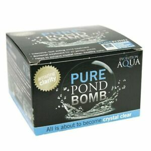 3 Packs 3 Packs EVOLUTION AQUA PURE POND BOMB CLEANING TREATMENT CLEAR HEALTHY