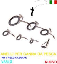 Altro Attrezzatura Pescatori Anelli Scorrevoli Guide Cimino Riparazione Canna Da Pesca Kit 12 Pezzi Ø Vari Attrezzatura Per Pescatori