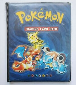 Vintage Pokemon Card Album Binder 4 Pocket Ultra Pro WOTC 1999 Charizard Pikachu