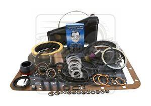 Fits Ford E4OD E40D Transmission Deluxe Rebuild Kit 89-95 Level 2 + Transgo Fix