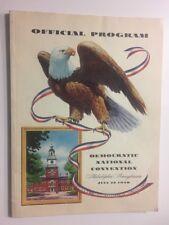 1948 Democratic National Convention PRESIDENT HARRY TRUMAN Official Program