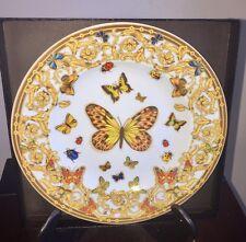 "New ROSENTHAL Ikaru JARDIN DE VERSACE BUTTERFLY Bread & Butter Plate 7 1/4"""