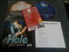HOLE / nobody's daughter  / JAPAN LTD CD OBI