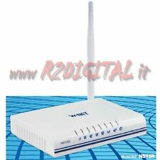 MINI ROUTER WIRELESS N 150M WIFI MODEM ADSL LAN SWITCH UNIVERSAL ANTENA WPA