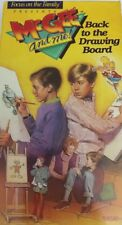 McGee and Me:Back to the Drawing Board -Focus on the Family-VHS Tape-TESTED RARE