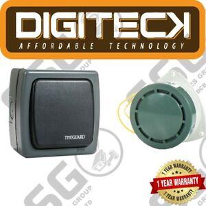 Main Power Industrial Door Bell Switch & Loud Alert Buzzer Factory Business 80DB